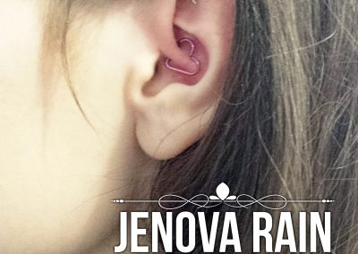 Daith heart ear body piercing for migraines