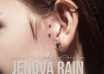 Tragus Surface piercing