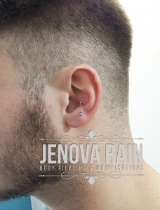 Jenova Rain Body Piercing Leicester UK