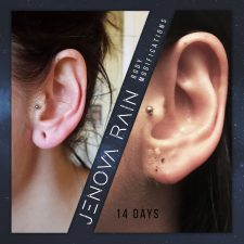 Stretched Ear Lobe Repair UK by Jenova Rain