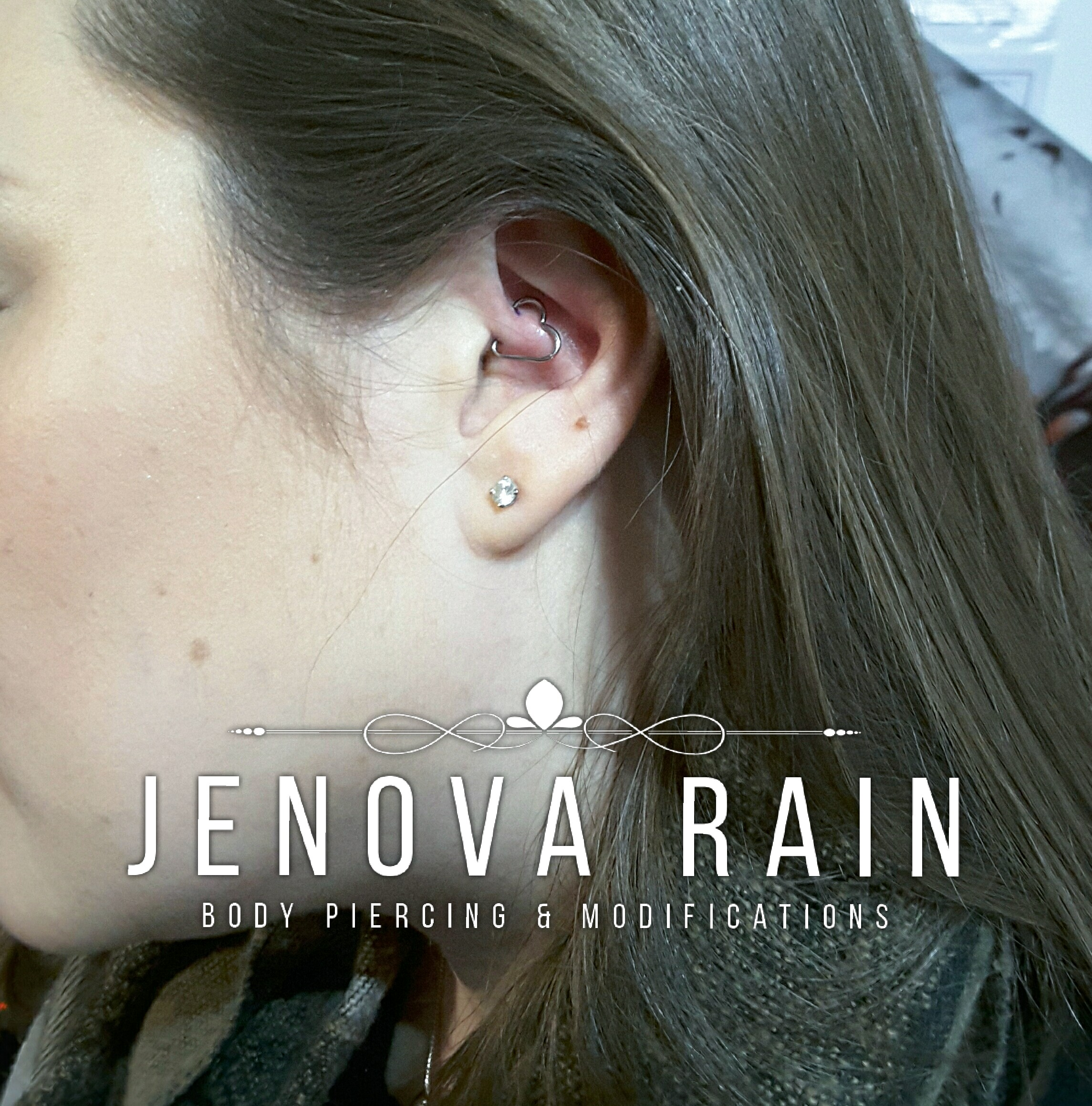 Body Piercing by Jenova Rain in Leicester UK